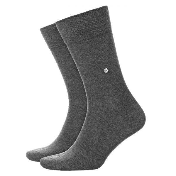 Donkergrijze Burlington Everyday sokken