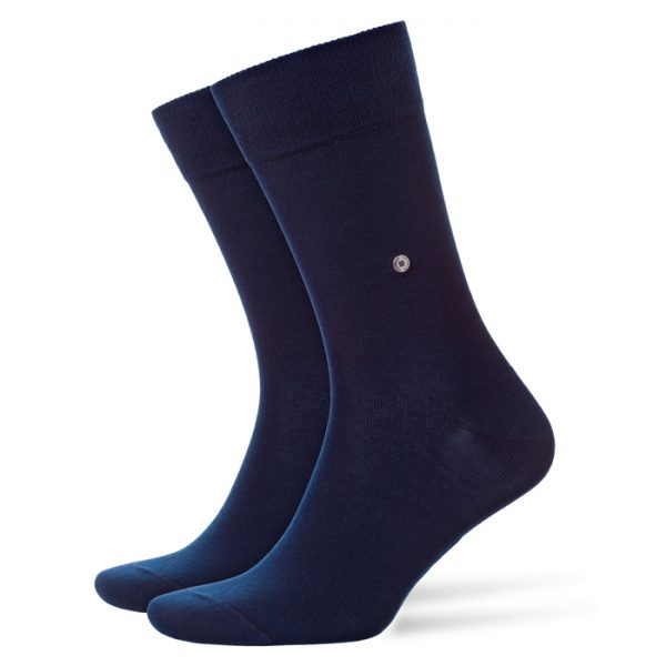 Donkerblauwe Burlington Everyday sokken