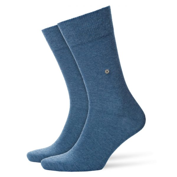 Lichtblauwe Burlington Everyday sokken