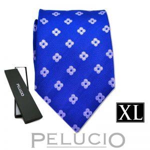 blauwe-pelucio-bloemen-stropdas-in-xl-uitvoering