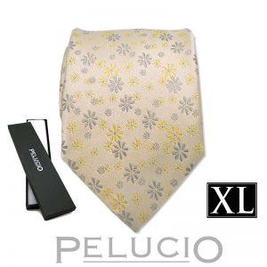 gele-pelucio-bloemen-stropdas-in-xl-uitvoering