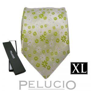 groene-pelucio-bloemen-stropdas-in-xl-uitvoering