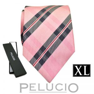 paars-roze-pelucio-ruit-stropdas-in-xl-uitvoering