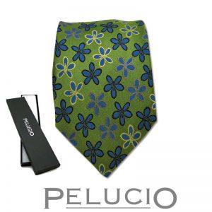 pelucio-bloemen-stropdas-groen.jpg