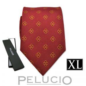 rode-pelucio-bloemen-stropdas-in-xl-uitvoering
