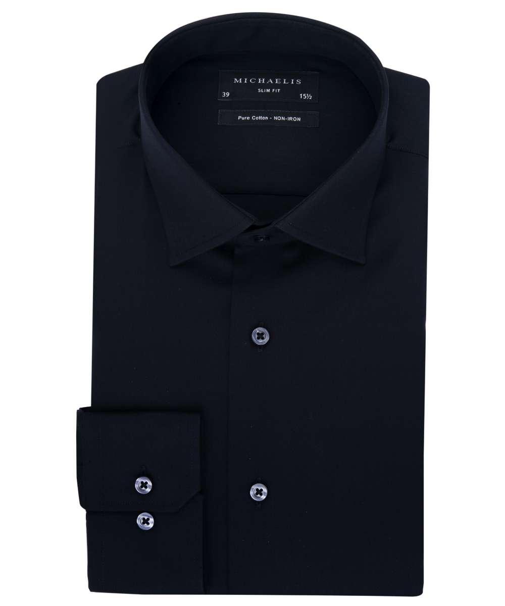 Zwart overhemd van Michaelis