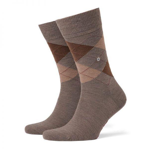 bruine burlington sokken