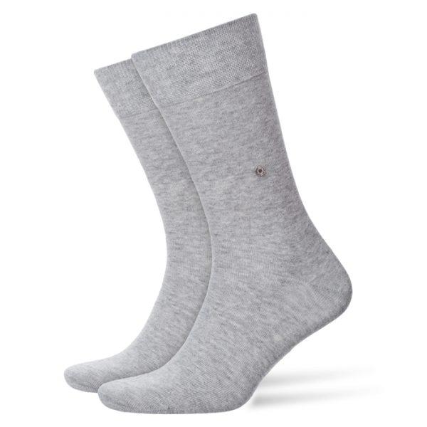 Lichtgrijze Burlington Everyday sokken